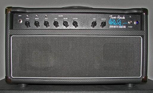 John Mayer Gear Two Rock Signature Amp