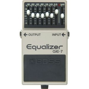 John Mayer Gear: Boss GE-7