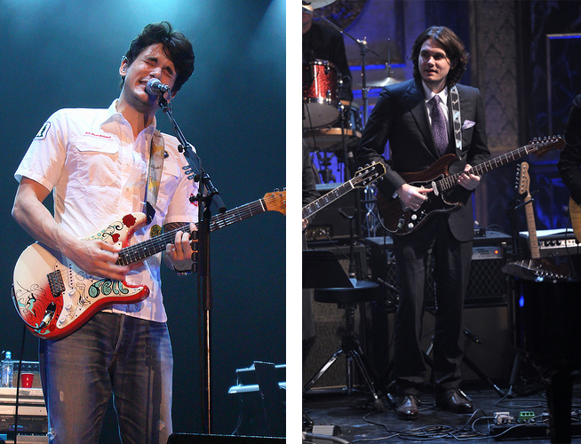John Mayer Gear Monterey Pop And Rosewood Rosie Strats
