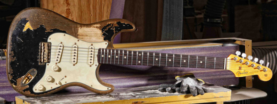 John Mayer Gear: Fender Custom Shop Black One
